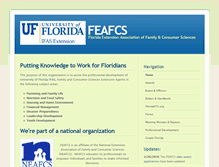 Tablet Preview of feafcs.ifas.ufl.edu